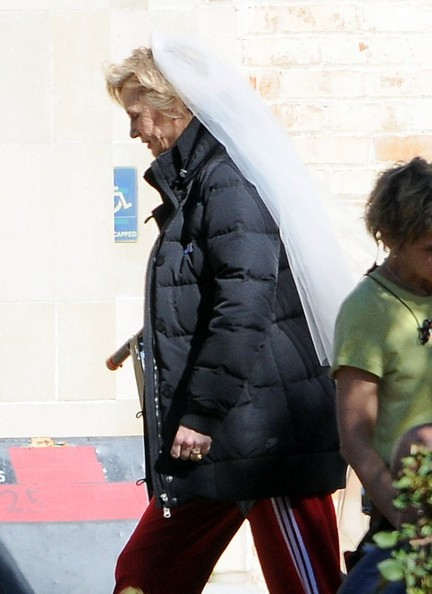 "Jane Lynch - ""Glee"" Films in LA"