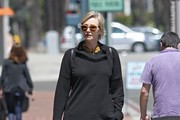 Jane Lynch Spotted Out Shopping in Beverly Hills