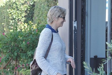 Jane Lynch Jane Lynch Lunches In LA