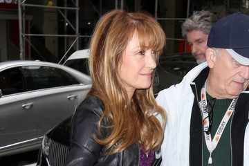 Jane Seymour Celebrities At 'The Today Show' In NYC