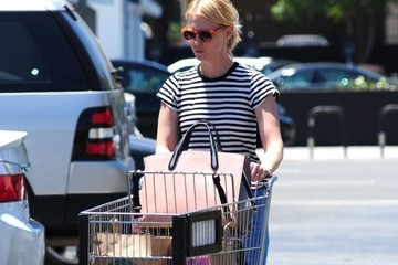 January Jones January Jones Stops by Whole Foods