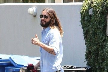 Jared Leto Jared Leto Keeps Busy in Studio City