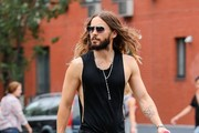 Jared Leto Takes a Stroll