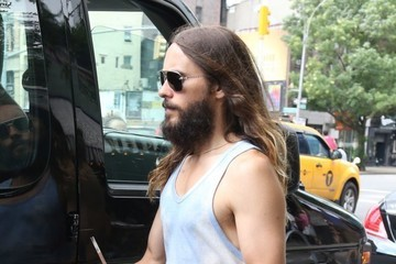 Jared Leto Jared Leto Out in NYC with His Brother