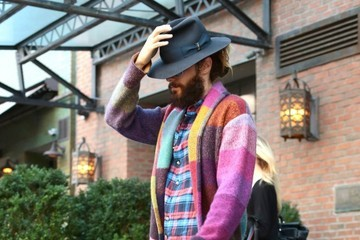 Jared Leto Jared Leto Leaves His Hotel — Part 2