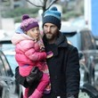 Jason Hoppy Jason Hoppy Carries His Daughter in NYC