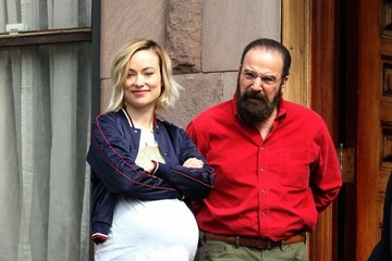 Jean Smart Stars Perform on the Set of 'Life Itself' in NYC