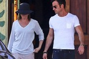 Jennifer Aniston and Justin Theroux Out in LA