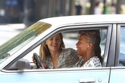 """Actress Jennifer Garner is spotted on the set of """"Miracles From Heaven"""" on August 2, 2015 in Atlanta, Georgia. Jennifer is rumored to be """"livid"""" over Ben Affleck's nanny affair claims..."""