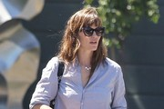 Jennifer Garner Leaves A Lunch Meeting In Brentwood
