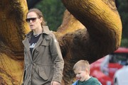Jennifer Garner Out And About With Her Son