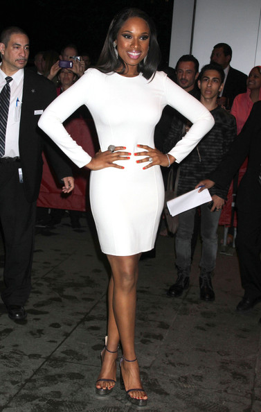 Jennifer Hudson Celebrities at the 2nd Annual amfAR Inspiration Gala in New York, NY.