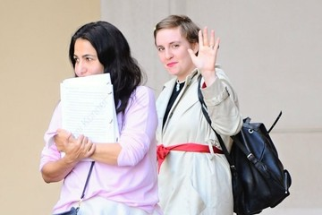 Jennifer Konner Reese Witherspoon, Lena Dunham, and Jennifer Konner Leave a Meeting in Beverly Hills