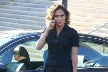 Jennifer Lopez Stars Perform on the Set of 'Shades of Blue'