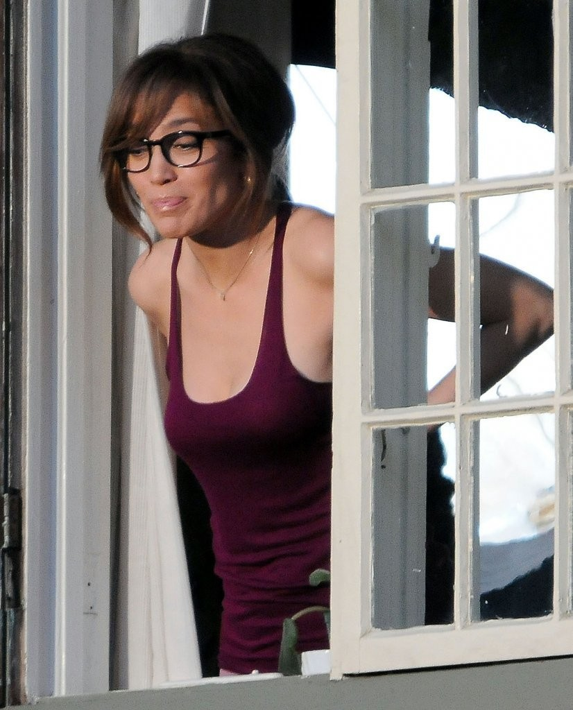 Jennifer Lopez On The Set Of 'The
