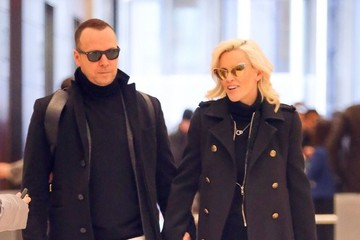 Jenny McCarthy Jenny McCarthy and Donnie Wahlberg Are Seen Leaving SiriusXM Radio