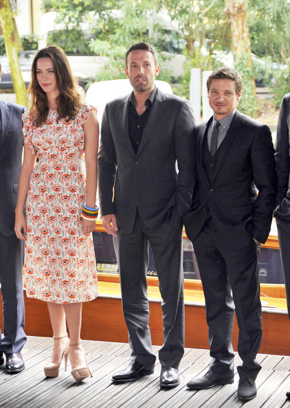 "Rebecca Hall and Jeremy Renner - Cast Of ""The Town"" Arriving At ..."