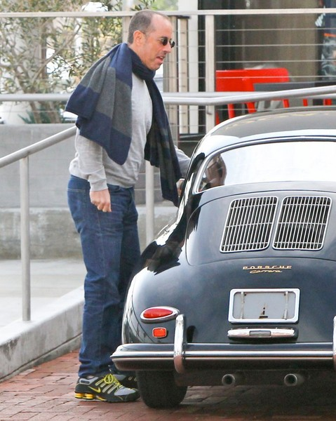 Spotted Jerry Seinfeld And Spike Feresten With A Porsche