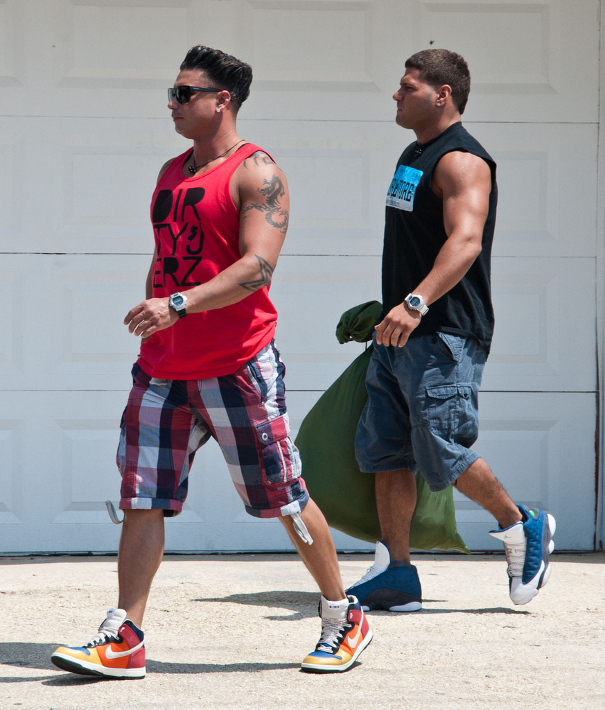 Ronnie Ortiz-Magro In 'Jersey Shore' Stars Filming In