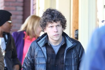 Jesse Eisenberg Celebs Out At The 2014 Sundance Film Festival