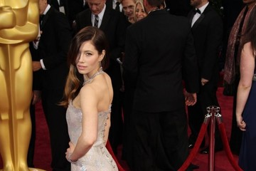 Jessica Biel Arrivals at the 86th Annual Academy Awards