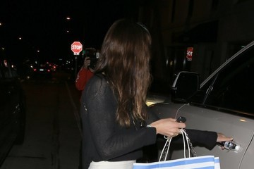 Jessica Biel Jessica Biel Dines Out At Au Fudge
