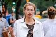 Jessica Hart Out and About in NYC
