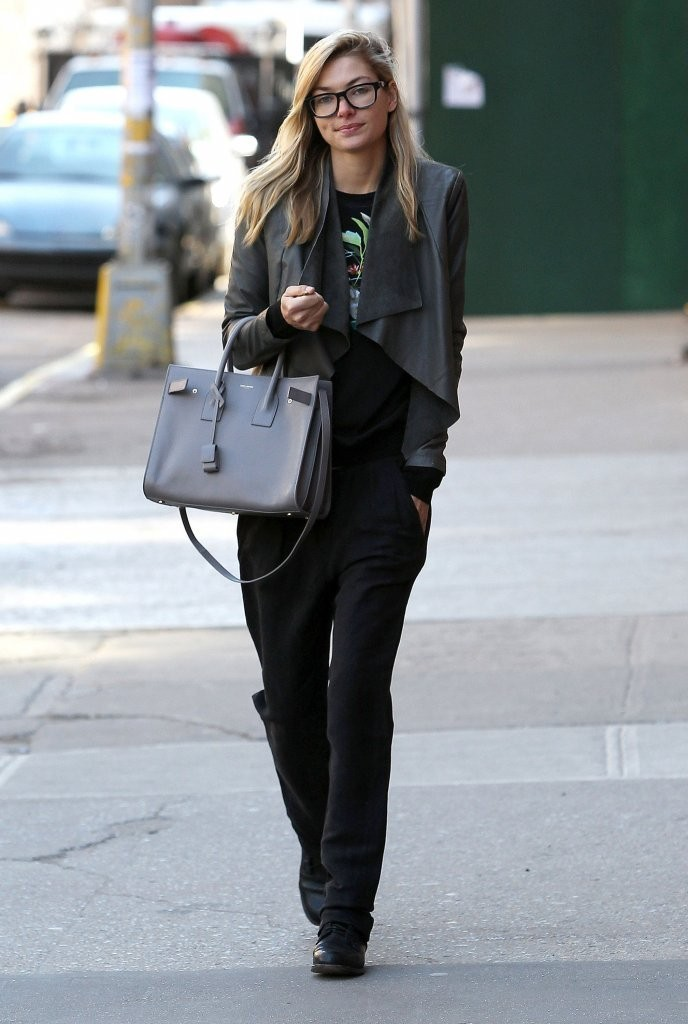 Jessica Hart Spotted Out And About In New York