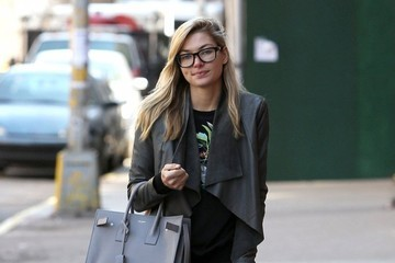 Jessica Hart Jessica Hart Spotted Out And About In New York