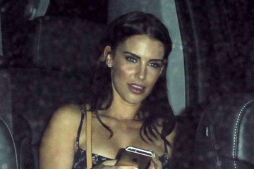 Jessica Lowndes Celebrities Out For Dinner At The Nice Guy Restaurant