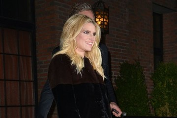 Jessica Simpson Jessica Simpson and Eric Johnson Step Out in NYC