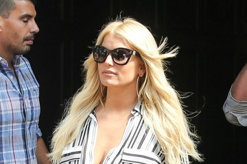 Jessica Simpson Jessica Simpson Spotted Outside the Bowery Hotel