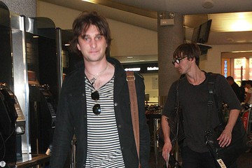 Nic Cester Jet Departing The Perth Airport