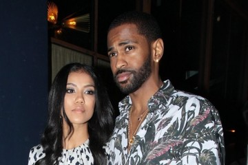 Jhene Aiko Celebs Dine Out At Craig's In West Hollywood