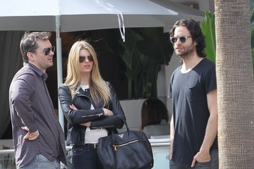 Jim Jeffries Chris D'Elia Out For Lunch in Beverly Hills