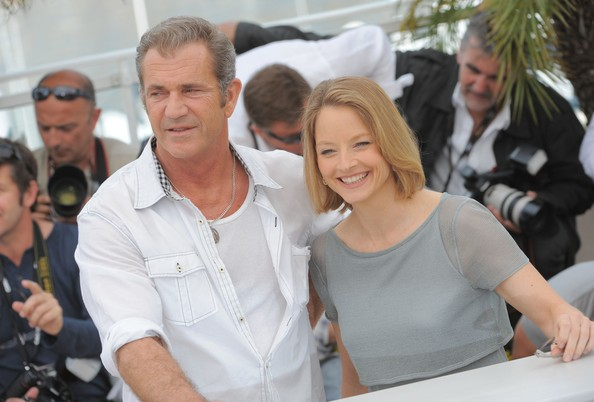 jodie foster mel gibson cannes 2011. Jodie Foster Mel Gibson and
