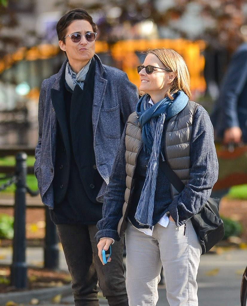 Jodie Foster & Alexandra Hedison Out And About In NYC - Zimbio