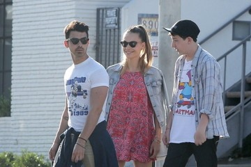 Joe Jonas Joe Jonas and Blanda Eggenschwiler Celebrate Easter