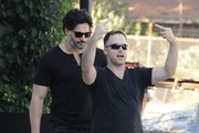 Joe Manganiello Goes Shopping with a Friend
