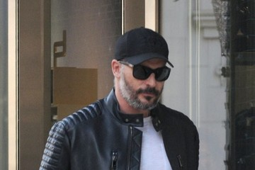 Joe Manganiello Joe Manganiello Shops at the Porsche Design Store