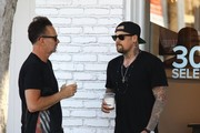 Joel Madden Chats with a Friend