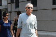 Joel Schumacher Out and About in NYC
