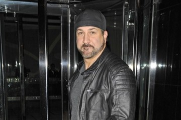 Joey Fatone Celebrities Spotted Out In New York City