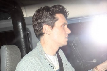John Mayer Celebrities Dine Out at Craig's Restaurant