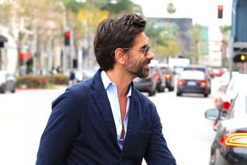 John Stamos John Stamos Out For Lunch In Beverly Hills