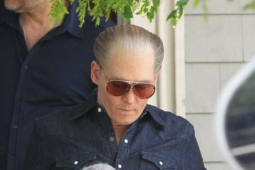 Johnny Depp Scenes from the 'Black Mass' Set