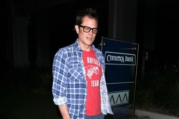 Johnny Knoxville Johnny Knoxville Gets Dinner at BOA
