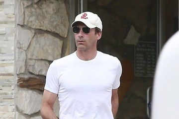 Jon Hamm Emmy Winner Jon Hamm Out and About in Los Angeles