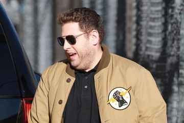 Jonah Hill Celebs Stop by 'Jimmy Kimmel Live!'