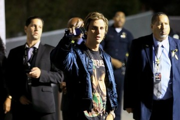 Jonathan Cheban Celebrities Leaving The Kanye West Concert At The Forum